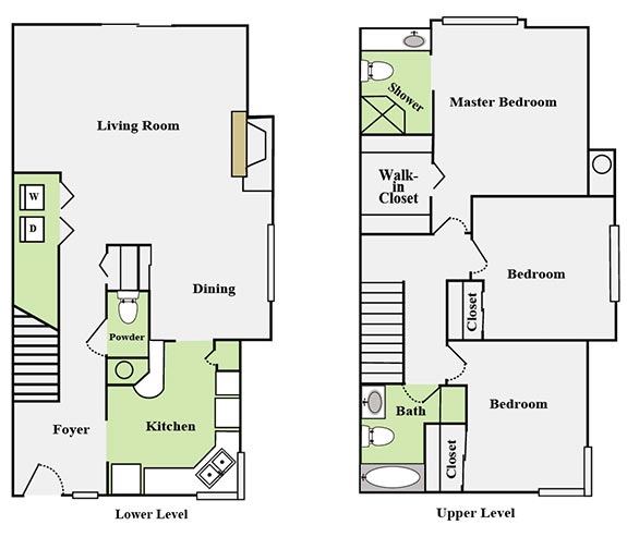 Floor Plans Indian Canyon Apartments
